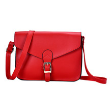 Fresh classic lively women bag for party or appointment Women Imitation leather Shoulder Bag Satchel Handbag Retro Messenger M15