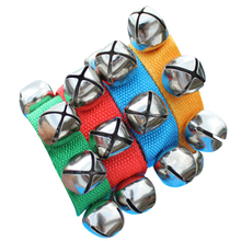 Baby Rattles Hand Wrist Foot Bell Toys Educational Dancing Accessories Toy for Boys and Girls