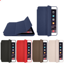 Original Official 1:1 Slim Leather Magnetic Smart Cases for IPad Air 2 Case Cover for Apple IPad Air for Ipad Mini+ Film and Pen
