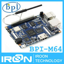 BPI-M64 Banana Pi M64 A64 64-Bit Quad-Core 2GB RAM BPI M64 with WiFi Bluetooth 8GB eMMC demo board Single Board Computer SBC(China)