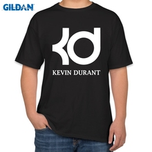 Kevin Durant black tshirt home jersey t-shirt KD letter print fashion   t-shirt men cotton  Tee Top