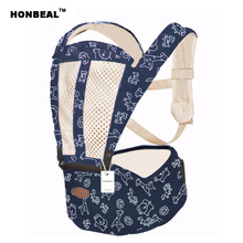 Baby Hipseat Kangaroo Rucksack Mochila Portabebe Ergonomic Baby Carrier 360 Hip Seat Baby Sling breathable(China)