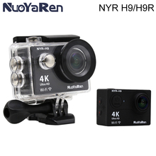 Action Camera Original NYR-H9/H9R 4K wifi Ultra HD 1080p/60fps 720P/120FPS Go waterproof mini cam pro bike video sports camera