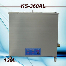High Quality big size 130L High Power Industrial  Ultrasonic Cleaner  110v/220v for big parts &factory use free basket