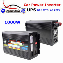 UPS Inverter 1000W DC 12V to AC 220V Car Car Power Inverter Inversor Fast Shipping