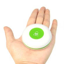 TIVDIO 433MHz Green Wireless Restaurant Office Service Call Transmitter Button Call Pager Paging System Waterproof F3253G