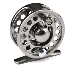 Outdoor 60mm Fishing Wheel Fishing Reel Exported to Japan Black Color Fly Reel 3/4 Fly Fishing Wheel Diameter Top Quality(China)