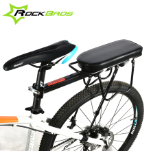 RockBros Disc Brake V Brake Aluminum Rack Bike Bicycle Rear Rack Carry Carrier Seatpost Mount Quick Release Max 25KG