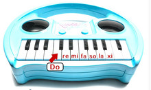 Eletronic Keyboard instrument baby child portable recorder type lighting small toy piano music