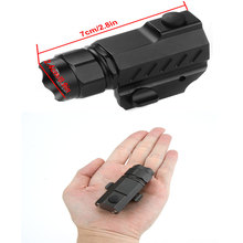 G02  LED  Gun Flashlight 2-Mode 600LM Pistol Handgun Torch Light for Hiking Fishing Outdoor