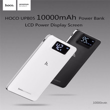 HOCO UPB05 Power Bank 10000mAh/20000mah LCD Display Quick Charge Dual USB Portable Charger External Battery For iPhone Xiaomi