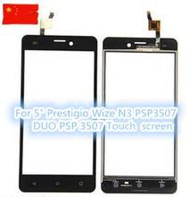 "New Touch Screen For 5"" Prestigio Wize N3 PSP3507 DUO PSP 3507 Smartphone Panel Digitizer Glass Sensor Replacement Free shipping"
