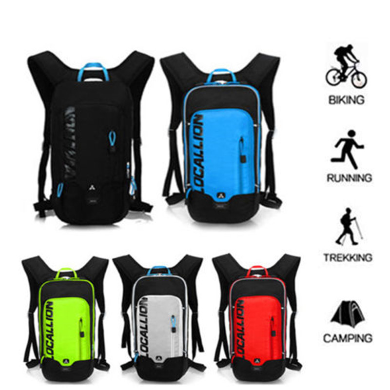 Just 8l Waterproof Cycling Backpack Large Capacity Bicycle Hydration Water Backpack Bag Bike Mtb Pouch Running Trekking Camping Bag Punctual Timing Sports & Entertainment Water Bags