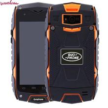 New Outdoor waterproof shockproof original GUOPHONE V11 rugged Smartphone Android 5.0 MTK6582 Quad Core Compass mobile phone
