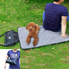 DoreenBeads Cats Dogs Bed Mat Outdoor Picnic Mats Waterproof Warm Pet Bed Blanket Multifunctional Folding Portable Pet Blankets