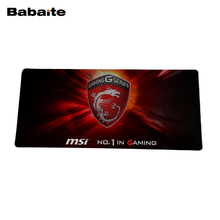 Babaite MSI mouse pad 900*400*2mm pad to mouse notbook computer Laptop Keyboard Mouse Mats For CS:CO dota 2 WOT Gaming mousepad