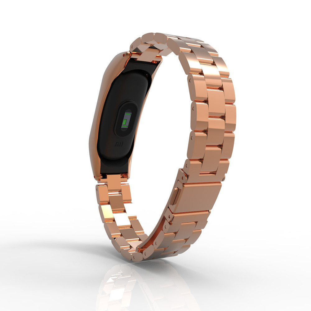 Watch Strap Watch Band For Xiaomi Mi Band 2 Stainless Steel Luxury Wristband Metal Ultrathin New Strap 3#0919