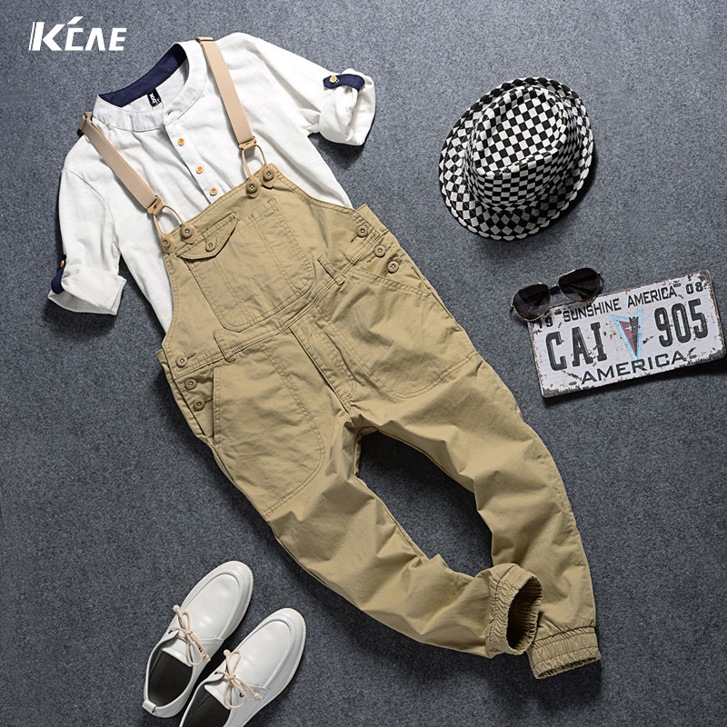 2017 New Mens straight Slim jeans Mens Tide Men Overalls Strap Pants Overalls Young Boys Plus Size ML,XL,XXLОдежда и ак�е��уары<br><br><br>Aliexpress