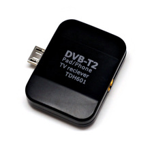 2016 new HD digital TV DVB - T2 DVB - T receiver  digital television reception dvb-t2 TV dongle  for   android  IOS mobile