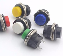 momentary push button switch  OFF-(ON) 16mm
