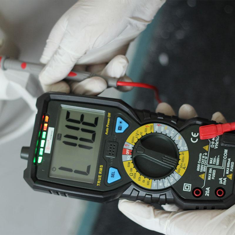 Practical Efficient Smart Clamp Meter Multimeter Electric Voltage Tester<br><br>Aliexpress