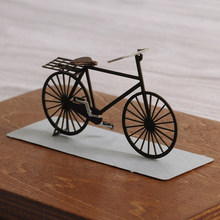 3D Laser Paper Craft Mini Bicycle Papercraft DIY 3D Paper Model(China)