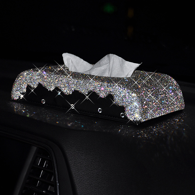 tissue-box-with-crystals-Tissue-case-Paper-box-for-home-Tissue-holder-cars-11