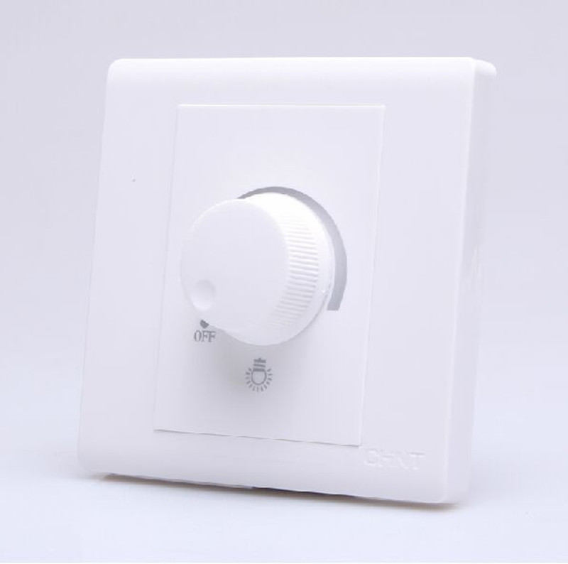 Knob PWM Triac Dimmable switch Adjustable Controller 630W AC 220V LED Dimmer Switch For Dimmable Panel light Downlight Spotlight<br><br>Aliexpress
