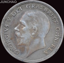 United Kingdom  Great Britain 1933 CROWN George V 90% Silver Coin Copy
