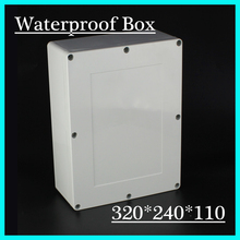 320*240*110mm Good Quality ABS Electronic Plastic Waterproof Enclosure Housing DIY Instrument Switch Control Junction Enclosure