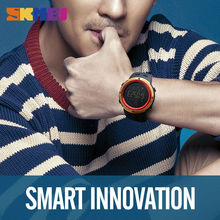 Fashion Smart Wristwatch SKMEI Pedometer Calorie Digital Watch For Apple IOS Android System Men Women Waterproof Sports Watches 1250(China)