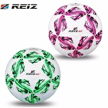 REIZ Adult Chidren Training Competition Football Soccer Ball 20CM Official Size 4 with Free Net Needle Five Star Pattern Outdoor(China)