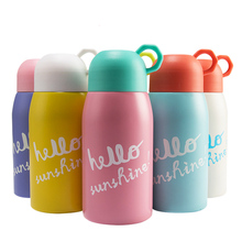 Cute Thermo Mug Vacuum Cup Stainless Steel Kids Insulated Thermos Bottle Thermal Tumbler Travel Coffee Mug Child Water Bottle