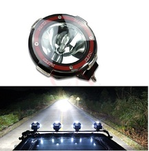 2Pcs 4 Inch 35W HID Work Light 12V Off Road Xenon Driving Fog Spot Light Lamp 4X4 4WD Truck ATV Offroad SUV High Quality