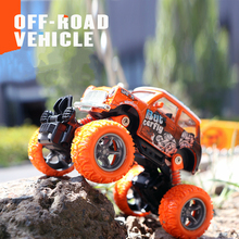 Alloy Body Spring Design Door Open Shock Proof Off-Road Vehicle with Big Rubber Tire Foot Pull Back Car Jsuny Toy Gift(China)