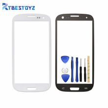"RTBESTOYZ 4.8"" LCD Front Digitizer Touch Screen Lens Outer Glass With Logo + Tools For Samsung Galaxy S3 I9300 i9305 I747 Parts(China)"