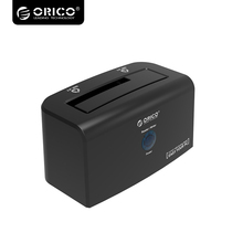ORICO Super Speed USB3.0 eSATA Hard Drive Docking Station for 2.5 & 3.5 inch SATA HDD & SSD - Black 8618SUS3(China)