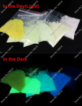 Mixed 5 Colors Luminous Sand Super Bright Glow in the Dark Noctilucent Particles for DIY Wishing Bottle&Holiday Gift