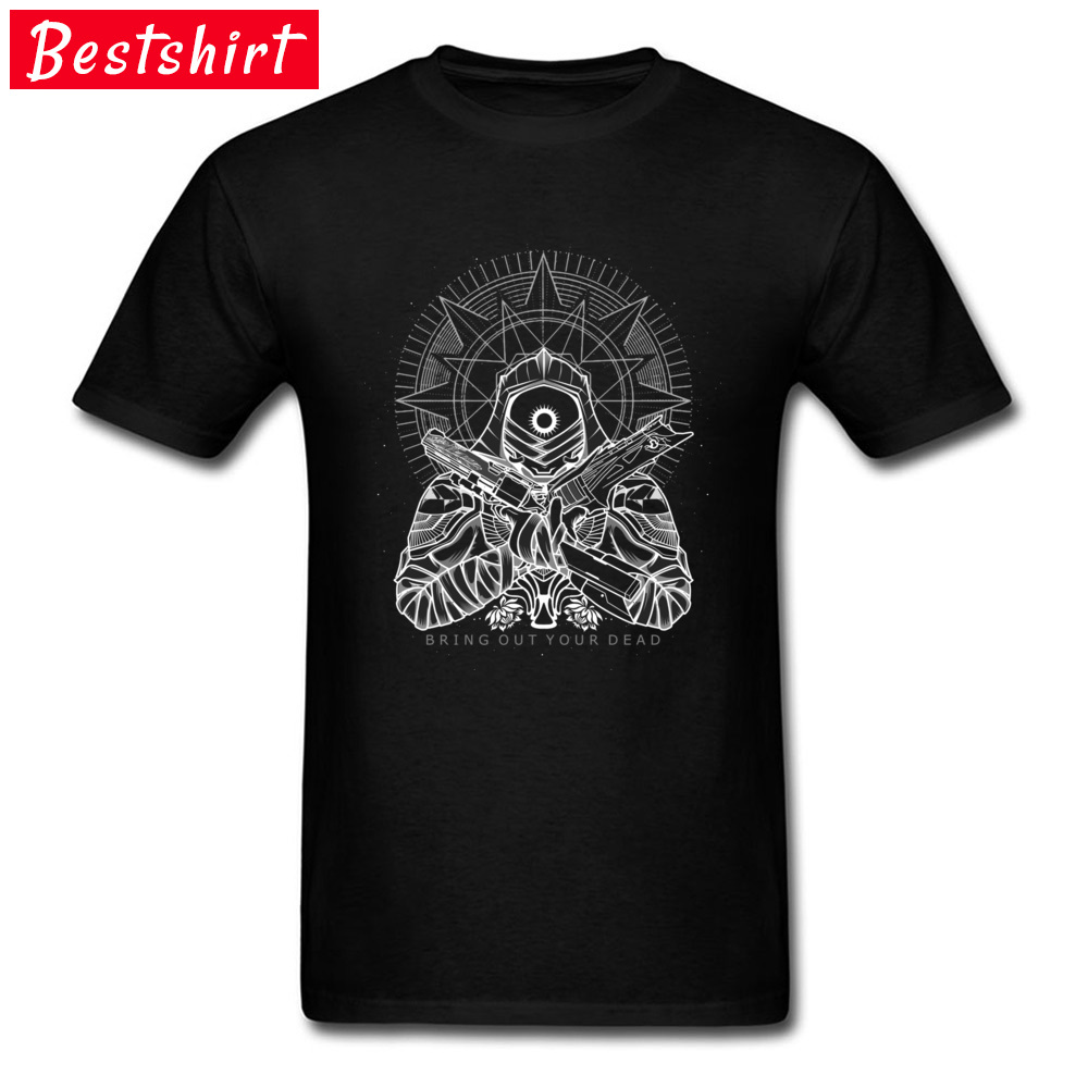 Bring out your dead T-shirts Casual Short Sleeve 2018 Discount Crew Neck All Cotton Tops Shirts T-Shirt for Men Summer/Fall Bring out your dead black