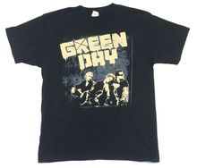 Green Day Grey Wall Band Img 21st Century Breakdown 2009 Tour Black T Shirt New Men Summer Short Sleeves T-Shirt  Summer Style