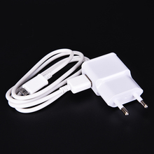 2A Wall Travel Charger Adapter EU Plug 1M Micro USB Charger Adapter For Samsung Note2 S3 S3 S4 Charging Device Cargador