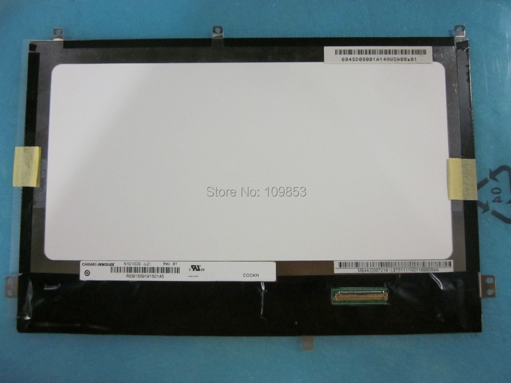 10.1 Slim LED LCD Screen tablet PC N101ICG-L21 10.1 WXGA 1280*800 For ASUS TF300T TF300 k001 Free shipping<br>
