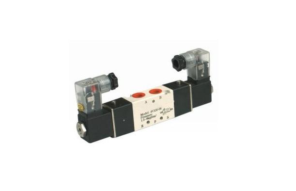 4V120-06 3 Postion 5 way 1/8 Solenoid Valves  DC12V DC24V AC110V AC220V<br><br>Aliexpress