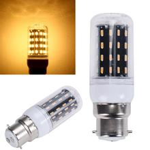B22 18W 110V 56LED 4014 SMD Energy Saving Light Corn Lamp Bulb Pure/Warm White Chandelier Candle LED Lights For Home Decoration(China)