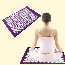 Massager pad Mattress Pain Relieve Acupressure Cushion Mat Relieves Stress, Back, and Sciatic Pain Massage(China)