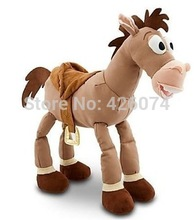 Toy Story Bullseye The Horse Plush Toys For Girls Boys Big Size 40CM Kids Stuffed Animals Toys Children Gifts