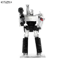 Finger Rock 3D Metal Hand Puzzles Assemble DIY Robot Model Toys Educational Gift WJ311