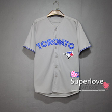 Men/Women Short Sleeve BlueJays Baseball Jersey Quick Dry Sport Hip Hop/Base Suit Jerseys/Shirt/Custom For Homme/Hombre/Mujer