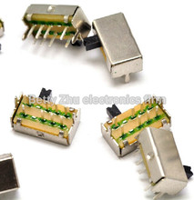 1000PCS/LOT SK23D07VG3 side pull switch with bracket feet 8 feet 3 files handle high 3MM