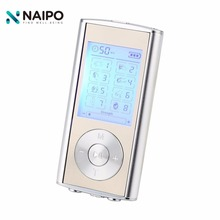 Naipo Dual Electric Low Frequency Tens Unit Lower Back Pain Relief Digital Screen Tens Machine Muscle Stimulator Massager(China)